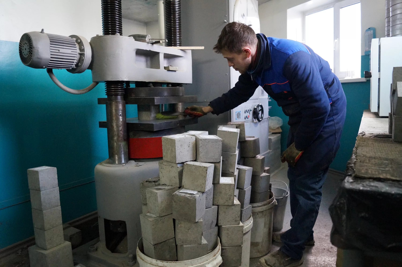 Услуги лаборатории бетона фибробетон плотность